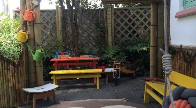 Jardim Sustentável, um espaço para aguçar a curiosidade das crianças