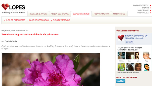 Blog Lopes Setembro