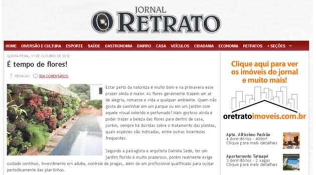 Jornal O Retrato – Out 2012